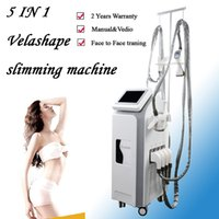 Wholesale best face slimming machine resale online - Best price velashape system weight lifting equipment rf body slim machine face eyes treatment beauty slimming machine