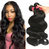 Wholesale real indian weave for sale - Group buy 9A Brazilian Body Wave Virgin Hair Bundles Unprocessed Brazilian Virgin Hair Bundle Deals Natural Color Real Brazilian Human Hair Weave