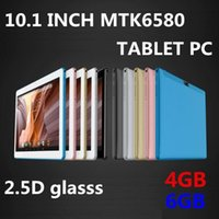 Wholesale inch phone tablet cases resale online - Cgjxs Dhl Inch Mtk6580 Octa Core ghz Android g Phone Call Tablet Pc Gps Bluetooth Wifi Dual Camera gb gb Keyboard Cover Case