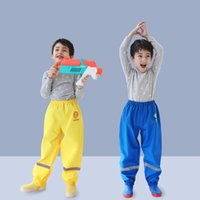 Wholesale rain pants for sale - Group buy Thick Style Kids Rain Pants Boys And Girls Students Baby Waterproof Pants Cartoon Animal Children Rain