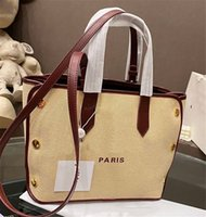 Wholesale bond bags for sale - Group buy new style GV BOND totes shopping bags classic canvas handbags purse woman BB50E5 single shoulder bag crossbody handbag