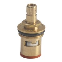 Wholesale temperature control valves for sale - Group buy 1 Inch Turn Ceramic Disc Tap Faucet Hot Cold Brass Temperature Control Valve