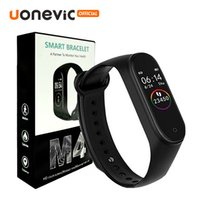 Wholesale package tracker online – M4 Smart Band Fitness Tracker Sport bracelet Heart Rate Blood Pressure Waterproof Monitor Heart Rate mi Band With Retail Package