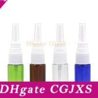 Wholesale pe pumps for sale - Group buy 500pcs ml Plastic Nasal Spray Pumps Bottle cc Pe Nasal Atomizers oz Oral Spray Applicators Colors To Choose Lx1205