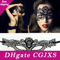 Wholesale lace masks for ball for sale - Group buy Hot Sales Halloween Sexy Masquerade Masks Lace Masks Venetian Half Face Mask For Christmas Cosplay Party Night Club Ball Eye Masks Moq p