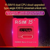 Wholesale RSIM15 For IOS13 Unlock Card RSIM R SIM15 Dual CPU Upgraded Universal Unlocking For IPhone Xs MAX XR XS X PLUS Ios7 X M zF9