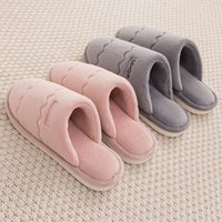 Wholesale womens house shoes resale online - Cotton Slippers Women s Winter Home Plush Slippers Household Plush Warm Winter Womens Indoor House Shoes Women s Shoes