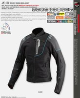 Wholesale komine riding resale online - New JK retro reflective riding KOMINE spring and summer motorcycle anti fall racing suits breathable cycling wear