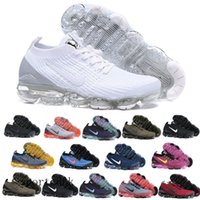 Wholesale sell tn shoes resale online - Hot Selling FK Knit tn plus running shoes for men women Triple Black White Red Orbit Volt Metallic Gold trainers sneakers DRR1A