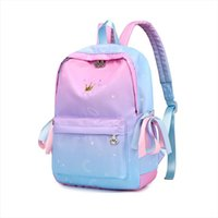 Wholesale primary books resale online - Starry sky Backpacks For Girls School Children Schoolbags Primary School Book Bag School Bags Printing Backpack Sac Ecolier Pink