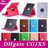 Wholesale ipad air2 smart case resale online - Cute Magic Girl Rotating Flip Pu Leather Smart Stand Case For New Ipad Pro Air Air2 Mini