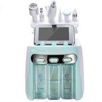 6 7 in 1 ultrasonic cavitation Hydra Facial machine Dermabrasion Water Aqua Oxygen Spray gun RF Hydro Microdermabrasion Peeling Vacuum Skin