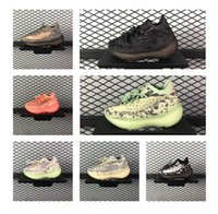 Wholesale runing sneakers for sale - Group buy Kanye West Kids Alien Mist M Reflective Designer Toddler Sneakers Clay Beluga Triple Black White Boys runing Shoes size