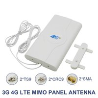 Wholesale Cgjxs mhz dbi g g Lte Antenna Mobile Antenna Sma Crc9 Ts9 Male Connector Bo Oster Mimo Panel Antenna Meters