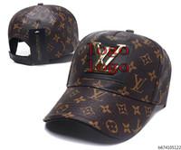 Wholesale hat strap resale online - of Golf caps Designer LV Hats Hundreds Strap Back Bee Men Women Bone Snapback Hat Adjustable Casquette Baseball Hats