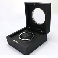 Wholesale Black Watch Box Fashion New Watch Box with Papers and Handbag Watches Box for Hu Watches