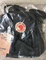 Wholesale original backpacks canvas resale online - 2 L Fjallraven Kanken Original Bag Camouflage Waterproof Fashion Luxury Design Canvas Bags Mom Bags Computer Bags Sport Backpacks Hangbag