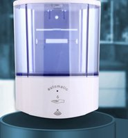 Wholesale dispenser container resale online - 1000ML Liquid Soap Container Automatic Infrared Sensor Soap Dispenser high capacity Wall Mount Automatic Dispenser LJJK2453