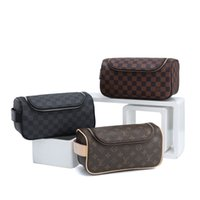 Wholesale make up days for sale - Group buy 2020 Luxury wash bag France Style Designer cosmetic bags Famous Toiletry Bag purse Toiletry Kits make up bag clutch pouch