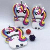 Wholesale rainbow iphone 5c for sale – best Cgjxs2017 d Fashion Cartoon Animals Fairy Tale Sexy Rainbow Unicorn Horse Soft Case For Iphone5 s Se c s plus splus plus