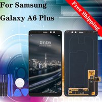 Wholesale repair digitizer screen resale online - 6 quot Factory Best Price Repair for Replacing LCD Screen Brand new for samsung Galaxy A6 Plus A605 Replacement Digitizer Assembly