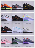 Wholesale winter football wear for sale - Group buy 2020 Men Black White Grey Polychromatic Wear Resistant Antiskid Casual Running Shoes Womens Space Air Cushion Leisure Sports Jogging Shoes