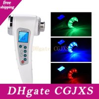Wholesale anti aging beauty machine resale online - Ultrasonic Skin Care Facial Lifting Whitening High Frequency Ultrasound Face Cleansing Anti Aging Wrinkle Removal Beauty Machine