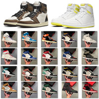 Wholesale blue womens basketball shoes for sale - Group buy Top Jumpman Panda Phantom Basketball Shoes Fearless Obsidian UNC Torch Hare Game Womens Mens Sneakers Sport Shoes With Box Size