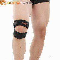 Wholesale elbow tendons for sale - Group buy Professional Double patella compression band patella tendon band basketball cycling Outdoor bicycle sports outdoor sports kneepad W5whZ W5wh