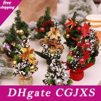 Wholesale home desk design for sale - Group buy New Design cm Mini Merry Christmas Tree Bedroom Desk Decoration Toy Doll Gift Home Children Natale Ingrosso Christmas Decorations