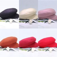 Wholesale hat studs resale online - tTNkY new autumn and Pointed cap cap octagonal solid woolen peaked all match artistic octagonal style Korean hat winter color Stud vkLXb