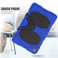 Wholesale robot cover for tablet resale online - Cgjxs Defender Shockproof Robot Case Military Heavy Duty Silicone Cover For Samsung Tablet T280 T350 T290 P200 T380 T820 T830 T590 T720 T510
