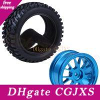 Wholesale car wheel tire parts for sale - Group buy 4pcs x28mm Tires Aluminum Wheels mm Hubs For Wltoys A959 A949 A969 A979 A959b A969b A979b Rc Car Spare Parts