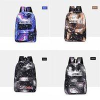 Wholesale cute bags set for girls resale online - Cute Girl School Bags For Teenagers Fortnite Starry Sky Fortress Night Backpack Set Women Shoulder Travel Bags Set Rucksack Knapsa