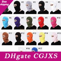 Wholesale mask for skiing for sale - Group buy 17 Colors Lycra Balaclava Face Mask Adjustable Windproof Ski Mask Headwear Neck Warmer For Skiing Cycling Hiking And Outdoor Sports