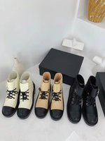Wholesale women suede boots for sale - Group buy 2020 Autumn winter new style lacing ankle women boots chain thick with sponge cake thick bottom waterproof platform Martin boots