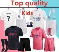 Wholesale blue real madrid soccer jersey for sale - Group buy 2020 Real madrid ISCO HAZARD Soccer jersey full kits BENZEMA MODRIC MARCELO bale ASENSIO camiseta de futbol soccer jerseys
