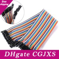 Wholesale dupont cables jumper wires for sale - Group buy Yks003 Dupont Line p cm Female To Female Jumper Wire Dupont Cable Breadboard Cable Jump Wire
