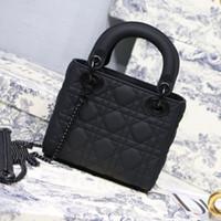 Wholesale metallic envelopes resale online - Designer Luxury Handbags Purses Women Shoulder bag Genuine Leather with Houndstooth Fabric CrossBodybag Saddle Handbag High Quality Bag