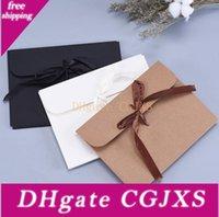 Wholesale photo bag pack for sale - Group buy Photo Cd Dvd Packaging Bags Postcard Packing Bags Silk Scarf Gift Paper Kraft Paper Envelope Bag cm