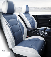 Universal Fit Car Accessories Interior Car Seat Covers Full Set For Sedan PU Leather Adjuatable Seats Covers For SUV 5 Pieces Seat Cushion02