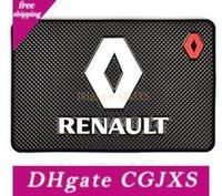 Wholesale car duster case resale online - Car Styling Auto Mat Case For Renault Megane Duster Logan Clio Laguna Car Badge Interior Accessories Car Styling