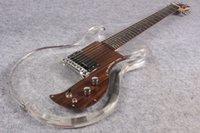 Wholesale acrylic electric guitar body for sale - Group buy Custom Shop Acrylic Body Dan Armstrong Ampeg Electric Guitar Rosewood Fingerboard Guitar China Guitars