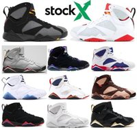 Wholesale raptor box for sale - Group buy 7s Bordeaux Hare Raptor Ray Allen Tinker Alternate Olympic Men Basketball Shoes Patta Reflections Of Champion French Blue Sneaker With Box