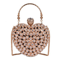 Wholesale gorgeous women handbags resale online - Designer Pink sugao Women Evening Clutch Bag Gorgeous Pearl Crystal Beading Bridal Wedding Party Bags CrossBody Handbags New Style Hand bag