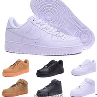 zapatos para correr tamaño al por mayor-nike air force 1 one Af1 