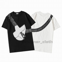 Wholesale m s bags resale online - 2020 Mens Womens Designer Tshirts Saddle Bag Printed Fashion man T shirt Top Quality Cotton Casual Tees Short Sleeve Luxe T Shirts