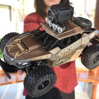Wholesale rc time resale online - 1 GHz WD With HD Camera Cars Off Road Buggy Toy High Speed Climbing RC Car Real time transmission Kids Toys