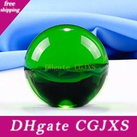 Wholesale modern feng shui for sale - Group buy 30mm Clear Crystal Ball Transparent Glass Ball Ornaments Feng Shui Globe Miniature Gifts Home Decoration