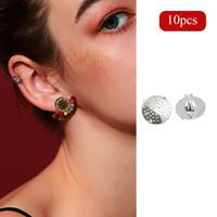 Wholesale diy brass earrings resale online - Dainty Brass Earrings High Quality Trending Elegant Bling Helix Diy Jewelry ID